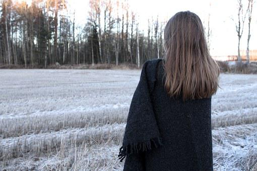 Girl, Landscape, Country Side, Finnish, Life Style