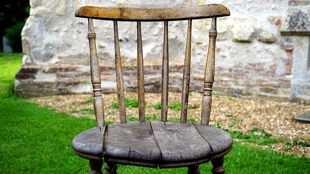 Chair, Wooden, Furniture, Style, Wood, Stylish, Old