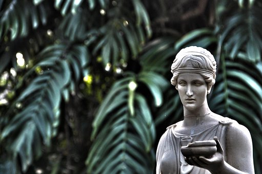Green, Hdr, Monument, Photos, Mystery, Statuewoman