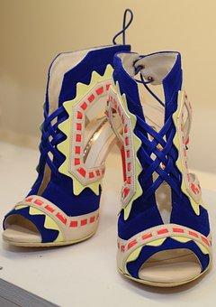 Shoes, Fashion, Style, High, Female, Girl, Fashionable
