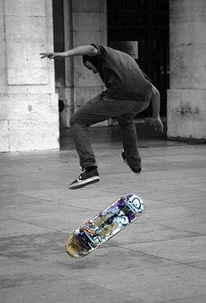 Skateboard, Urban, Street, Youth, Lifestyle, Skate
