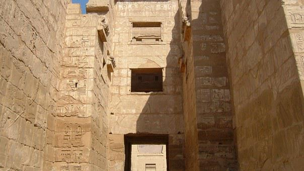 Habu Temple, Syrian Style Temple, Luxor West Bank