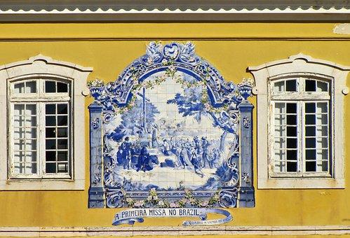 Window, House, Ceramics, Tile, Azulezhu, Azulejo