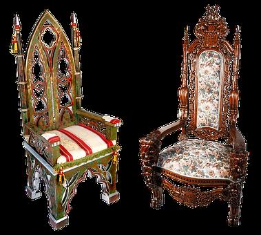 Armchair, Chair, Tron, Imperial, Gothic