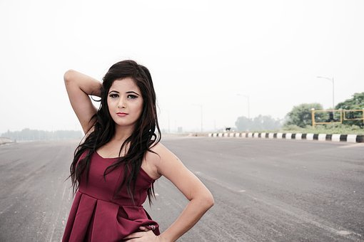 Night Shoot, Model, Indian, Chandigarh, Young, Night