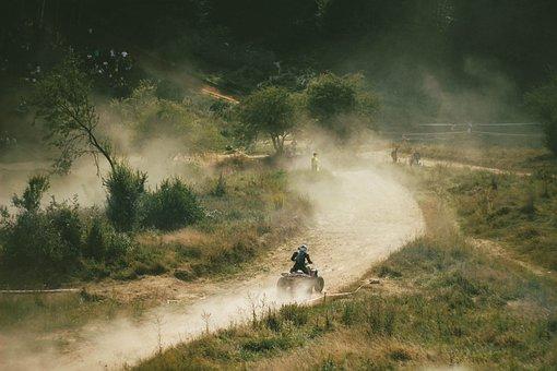 Atv, Sport, Quad, Motocross, Race, Motorcycle