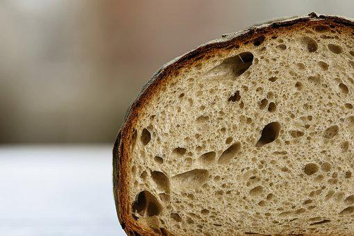 Baked Goods, Baked, Bread, Mixed Wheat Bread, Crust