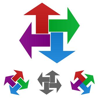 Arrow, Logo, Vector, Icon, Option, Decision, Thick