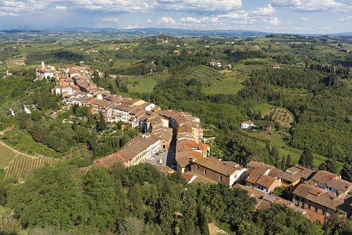 San Miniato, Pisa, Tuscany, Italy, Municipality