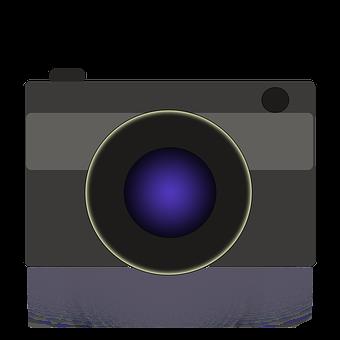 Camera Icon, Camera, Camera Symbol, Lens, Icon