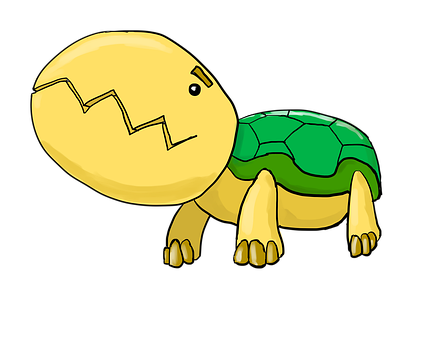 Pokemon, Monster, Creature, Green, Yellow, Turtle