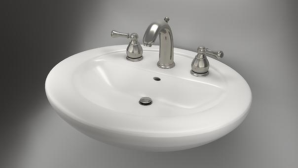 Bathroom Sink, 3D, Cgi, Rendering