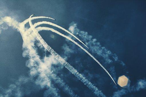 Airshow, Airplanes, Aircraft, Thunderbirds, Aviation