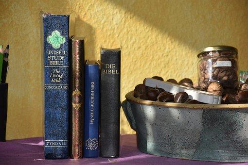 Bible, Quran, Religion, Books, Believe, Religious