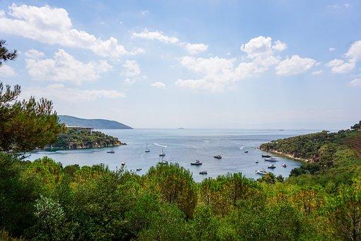 Sea, Island, Boat, Summer, Heybeliada, Buyukada, Ocean