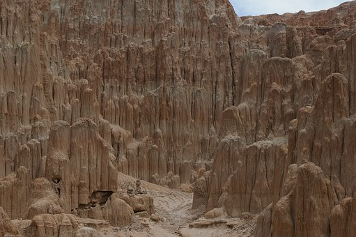Cathedral Gorge, State Park, Nevada, Rock Formation