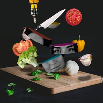 Cook, Face, Cooking, Funny, Fun, Chef, Eat, Girl, Color