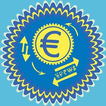 European Euro, Europe Eur, Eu E Badge, Dollar Sign