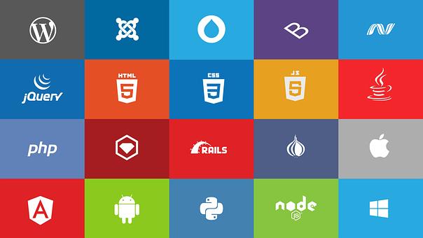 Wordpress, Joomla, Drupal, Bootstrap, Net, Jquery