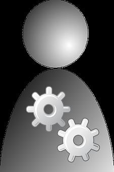 Options, Settings, Repairs, User, People, Job, Work