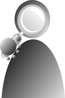 Search, Magnify, Loupe, User, People, Job, Work