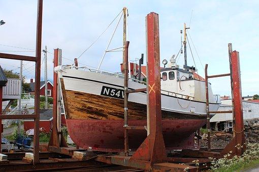 Boat, Repair, Port, Maintenance, Shipyard