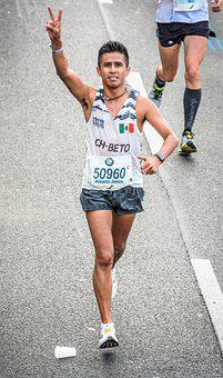 Marathoner, Running, Run, Race, Sport, Competition