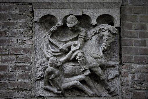 Saint Martin, Utrecht, Customs, Relief, Coat Division