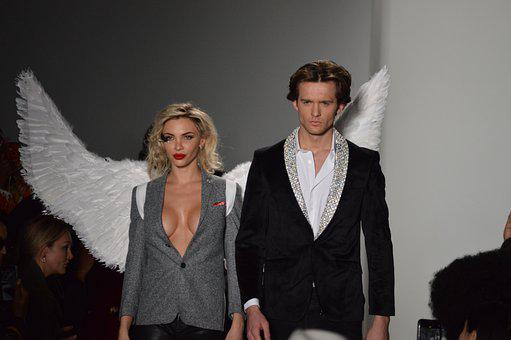 Fashion, Model, People, New York, Angel, Wings