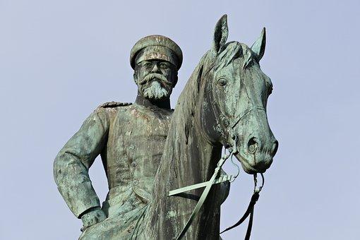 Statue, Horse, Reiter, Monument, Sculpture, Oxidation