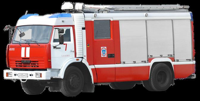 Fire Truck, камаз, 43753, Tlf, Tank Fire Truck