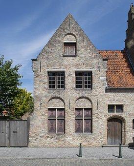 Old, Brick, Dutch, Arch, Architecture
