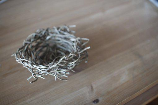 Nest, Home, Brown, Empty, Architecture, Creation, Props
