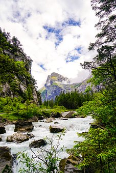 The Gastern Valley, Switzerland, Kandersteg, Hiking