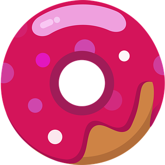 Donut, Logo, Donuts, Candy, Cookies