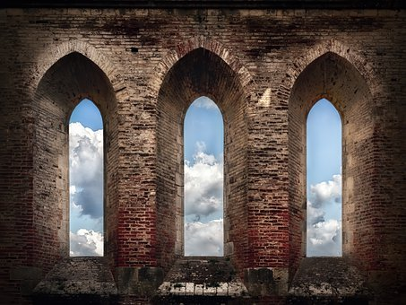 Abbazia Di San Galgano, Ruin, Church, Building, Old