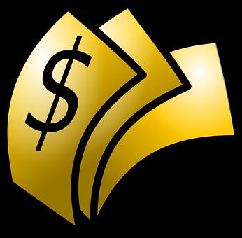 Dollar, Money, Notes, Gold, Wealth