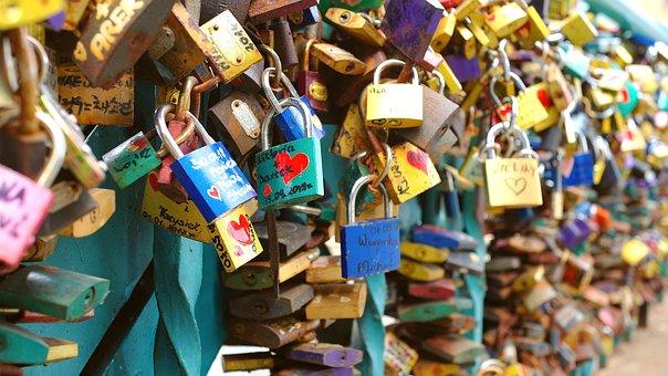Wrocław, Wroclaw, Poland, Bridge, Castles, Love