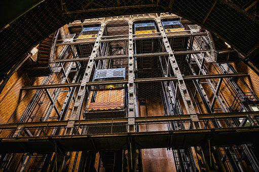 Elevator, Lift, Freight Elevator, Hamburg
