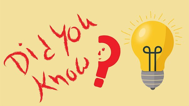 Did You Know, Idea, Thought, Fact, Mind, Think, Concept