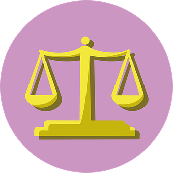 Legal, Icon, Law, Document, Right, Balance, Title