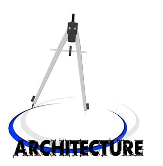 Architecture, Zirkel, Lines, Circle, Logo, Icon, Draw