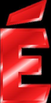 Alphabet, E, É, Umlaut, Mutated Vowel