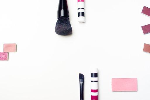 Cosmetics, Brush, Makeup, Lipstick, Cosmetic, Hair