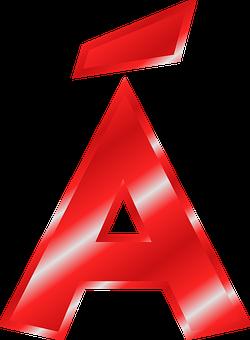 Alphabet, A, á, Umlaut, Mutated Vowel, Abc, Letter
