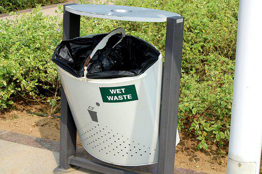 Waste Dustbin, Dirty, Dump, Clean, Recycling, Isolated