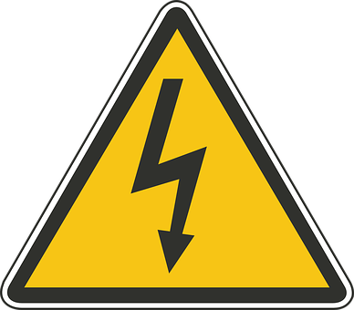 Drive, Danger, Road, Overhead, Cables, Electric