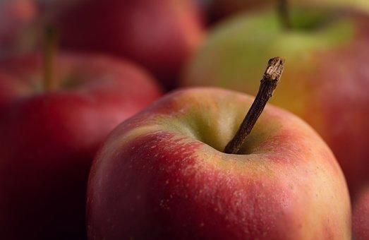 Apple, Healthy, Red, Fruit, Apples, Fruits, Vitamins