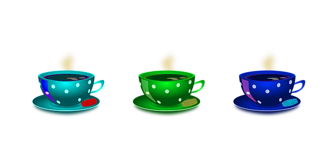 Cup, Tea, Coffee, Hot, Cookies, Food, Drinking