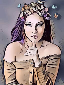 Fairy, Woman, Secret, Fantasy, Girl, Fairytale